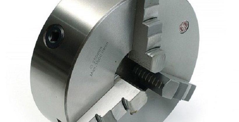Обзор 3-х кулачкового токарного патрона 250 мм