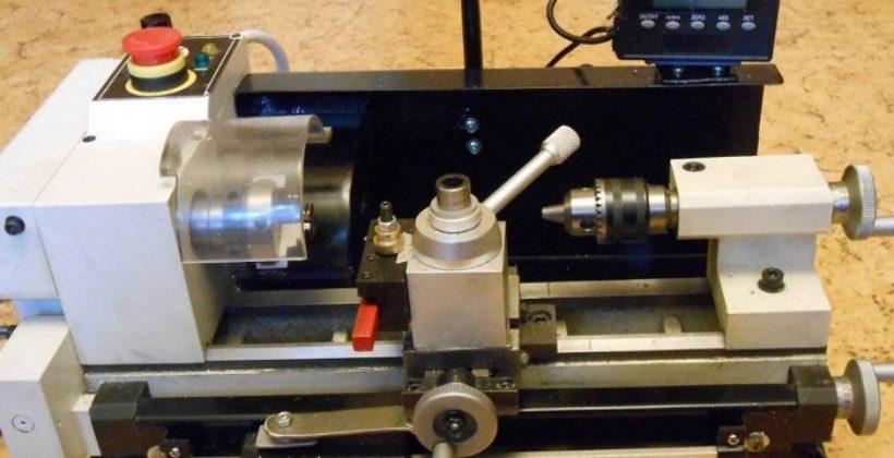 Настольный токарный станок по металлу JET BD-3 для домашней мастерской и гаража