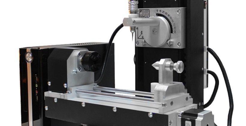 Эпоха автоматизации — 4-х осевой фрезерный станок с ЧПУ