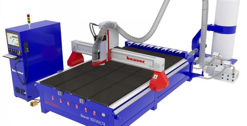 Многофункциональный фрезерный станок с ЧПУ Beaver для изготовления декоративной отделки и художественных панелей