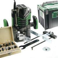 Обзор и технические характеристики ручного фрезера Hitachi M8 V2