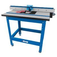 Незаменимый помощник фрезеровщика — фрезерный стол KREG PRS1045