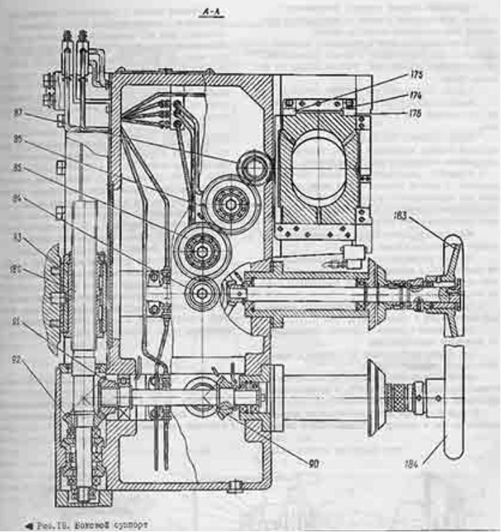 боковой супорт 1512